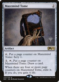 Mazemind Tome (Stamped / CoreSet 2021)
