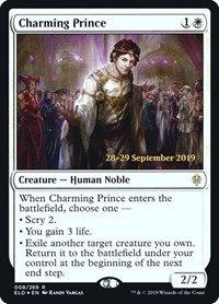 Charming Prince (Prerelease Foil / Throne of Eldraine)