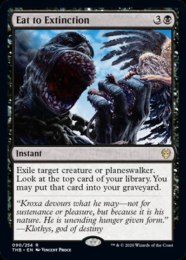 Eat to Extinction (Foil / Theros Beyond Death)
