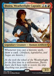Jhoira, Weatherlight Captain (Foil / Dominaria)