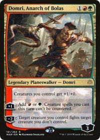 Domri, Anarch of Bolas (Stamped / War of the Spark)