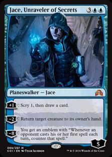 Jace , Unraveler of Secrets (Shadows Over Innistrad)