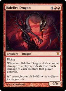 Balefire Dragon (Innistrad)