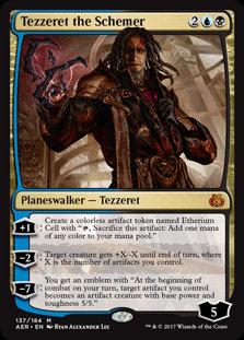 Tezzeret the Schemer (Aether Revolt)