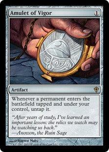 Amulet of Vigor (Worldwake)