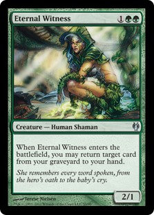 Eternal Witness (Duel Decks - Izzet vs Golgari)