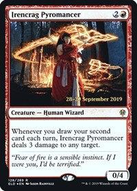 copy of Irencrag Pyromancer (Foil / Throne of Eldraine)