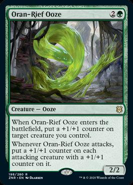 Oran-Rief Ooze (Zendikar Rising)