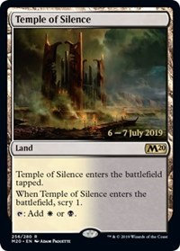 Temple of Silence (Prerlease Foil / CoreSet 2020)