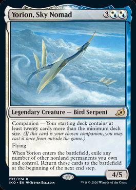 Yorion, Sky Nomad (Foil / Ikoria - Lair of Behemoths)