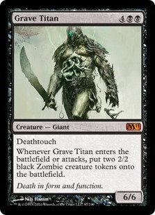 Grave Titan (Foil / CoreSet 2011)