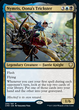 Nymris, Oona's Trickster (Commander Legends)