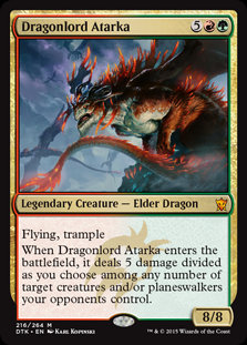 Dragonlord Atarka (Dragons of Tarkir)