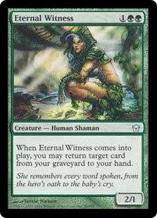 Eternal Witness (Foil / Fifth Dawn - Italian)