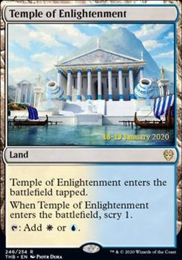 Temple of Enlightenment (Prerelease Foil / Theros Beyond Death)
