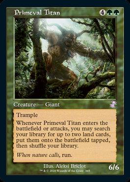 Primeval Titan (Time Spiral Remastered)