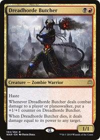 Dreadhorde Butcher (Stamped / War of the Spark)