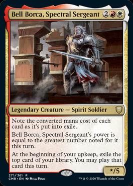 Bell Borca, Spectral Sergeant (Commander Legends)