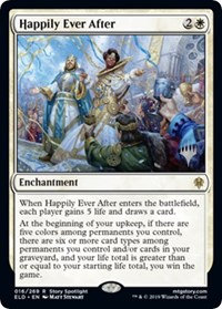 Happily Ever After (Foil/ Stamped / Throne of Eldraine)