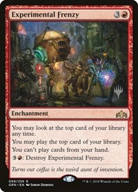 Experimental Frenzy (Stamped / Guilds of Ravnica)
