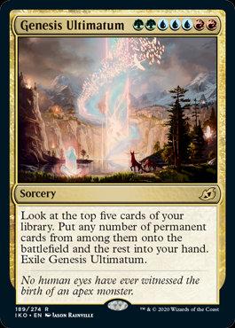 Genesis Ultimatum (Ikoria - Lair of Behemoths)