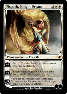Elspeth, Knight Errant (Duel Decks - Elspeth vs. Tezzeret)