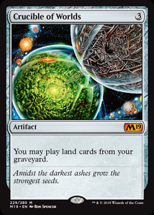 Crucible of Worlds (Prerelease Foil / CoreSet 2019)