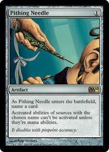 Pithing Needle (Foil / CoreSet 2010)