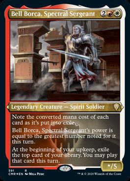 Bell Borca, Spectral Sergeant (Etched Foil / Commander Legends)