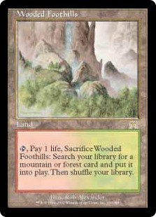 Wooded Foothills (Onslaught - German)