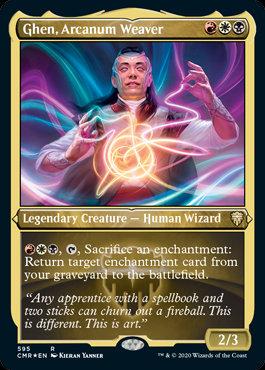 Ghen, Arcanum Weaver (Etched Foil / Commander Legends)