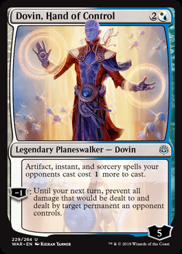 Dovin, Hand of Control (Foil / War of the Spark)