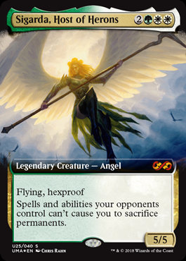Sigarda, Host of Herons (Foil / Ext Art / Double Masters)