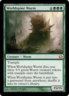 Worldspine Wurm (Return to Ravnica)