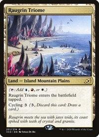 Raugrin Triome (Foil / Stamped / Ikoria - Lair of Behemoths)