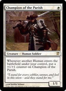 Champion of the Parish (Foil / Innistrad)