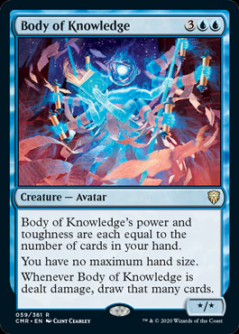 Body of Knowledge (Foil / Commander Legends)