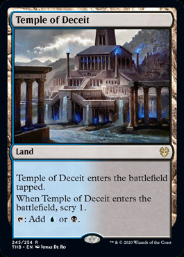 Temple of Deceit (Theros Beyond Death)