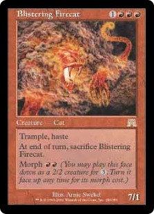 Blistering Firecat (Foil / Onslaught)