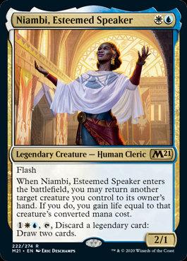 Niambi, Esteemed Speaker (CoreSet 2021)