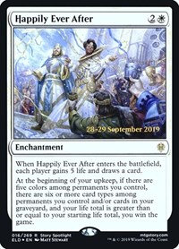 Happily Ever After (Prerelease Foil / Throne of Eldraine)