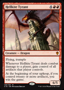 Hellkite Tyrant (Commander 2016)