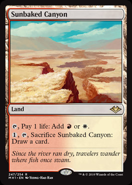 Sunbaked Canyon (Modern Horizons)