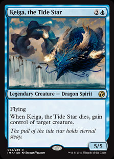 Keiga, the Tide Star (Iconic Masters)