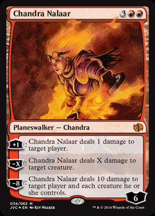 Chandra Nalaar (Duel Decks Anthology - Jace vs Chandra)