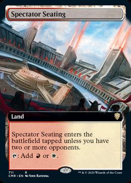 Spectator Seating (Ext Art / Commander Legends)