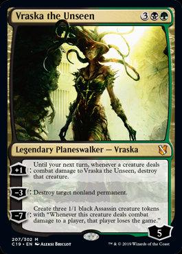 Vraska the Unseen (Commander 2019)