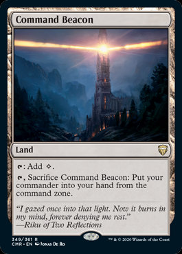 Command Beacon (Foil / Commander Legends)