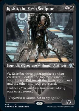 Keskit, the Flesh Sculptor (Etched Foil / Commander Legends)