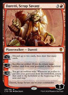 Daretti, Scrap Savant (Commander 2016)